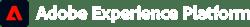 Adobe_ExperienceCloud_Product_ExperiencePlatform_Horizontal_Lockup_White_RGB