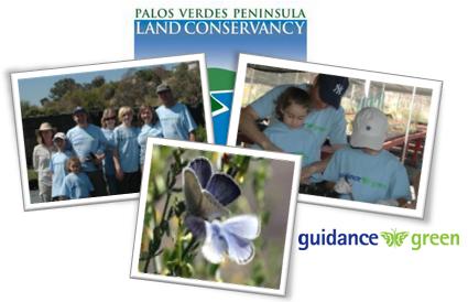 Guidance Green members help rescue the Blue butterfly's habitat