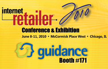 Internet Retailer Conference & Expo - Guidance, booth #171