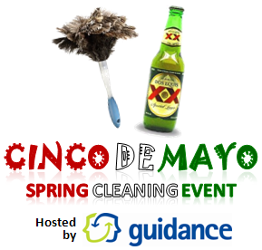 Cinco de Mayo Spring Cleaning event at Guidance