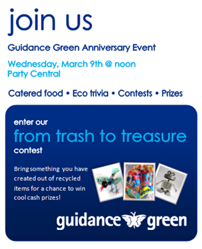 Guidance Green Anniversary Event