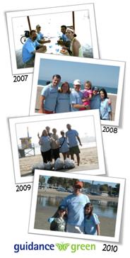 Guidance Green Beach Cleanup