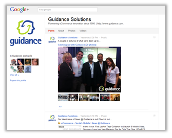 Guidance is now on Google+