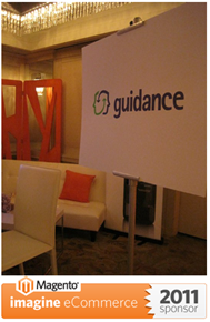 Guidance lounge at Magento Imagine 2011