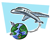 Offsetting air travel carbon footprint