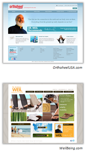 OrthaHeelUSA.com and WeilBeing.com
