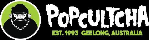 Popcultcha Hero Logo