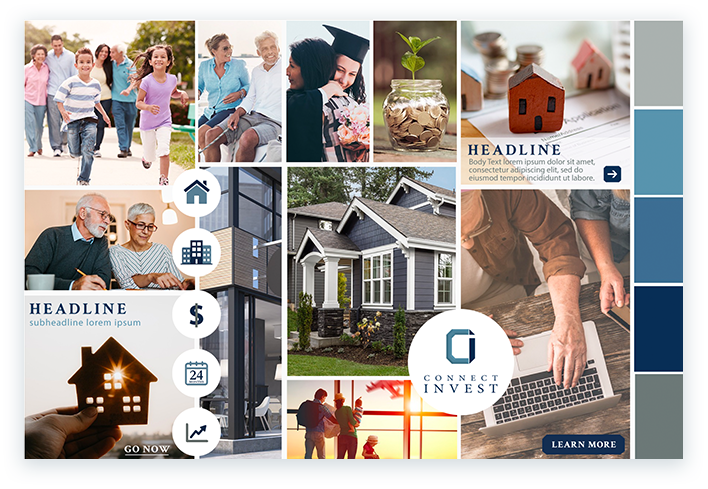 Connect Invest Mood Board