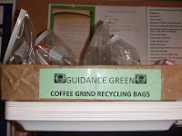 Guidance Green's Coffee Grounds Recycling Program