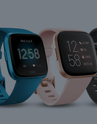 Mobile Fitbit Homepage Banner