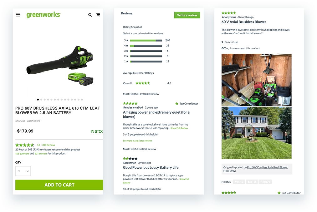 bazaarvoice ratings and reviews for products and ugc