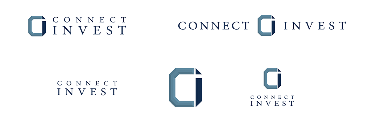 Connect Invest Branding Logo Suite
