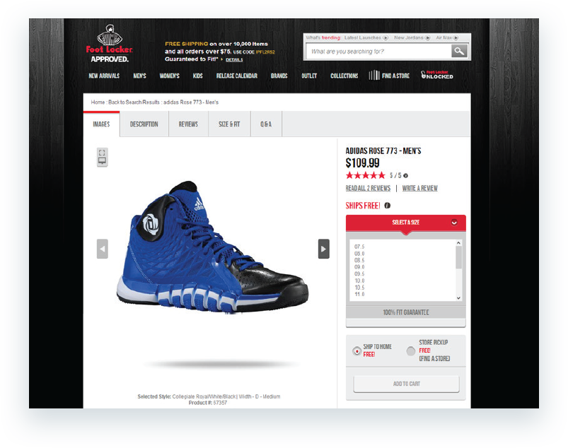 Foot Locker | Case Study